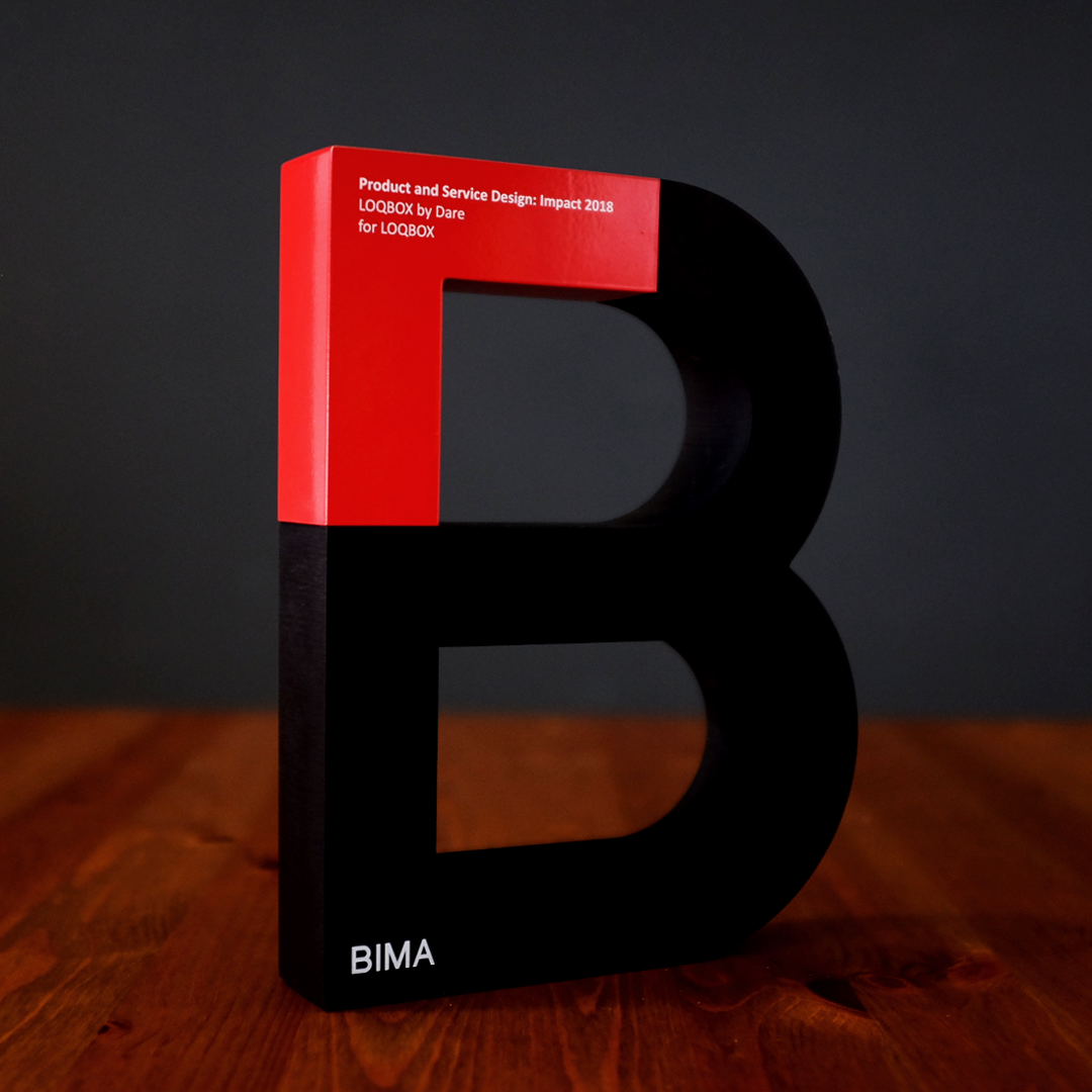 Dare_BIMA_Award_Square